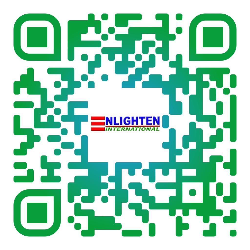 Enlighten International Website QR Code